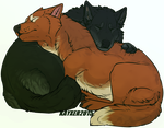 Cuddle time by Kayxer