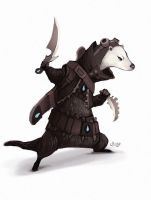 Daily Hero - Otter Assassin by shoze