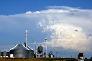 High Plains Supercell by Bvilleweatherman