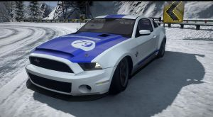 shelby GT 500 SS. NFS the run by daz1200