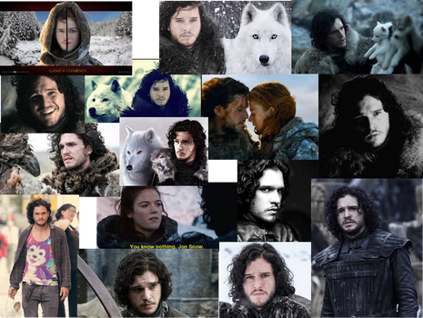 You Know Nothing, John Snow by kira19982013