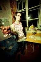 nuclear apples by EXtrasoda
