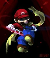 want to give Mario the weapon except for a hammer3 by silver151