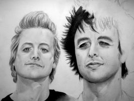 Green Day - en cours - by Linnantah