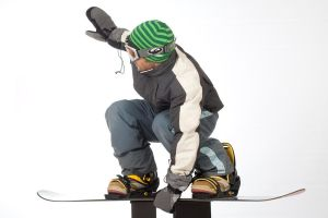 Snowboarder 021 by ISOStock