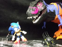 Sonic, Fastest thing alive fights his greatest foe by forever-at-peace