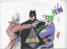 Gordon Batman Joker by Derrico13