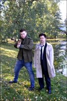 Dean and Cas by secondaccident