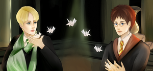 Draco and Harry by merue