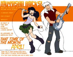 APRIL TOPIC - Inuyasha ROCKS by ThatTime