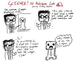 SCIENCE At Redstone Labs by Mishaguji