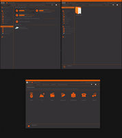 Orange - system icons by tchiro
