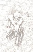 Kitty Pryde by yosarian13