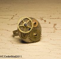 Steampunk ring 02 by skuggsida