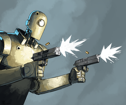 semi-auto robo by makisstyle