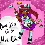 Maid Cafe Home Page by Blackrain100