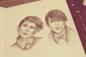 Tegan and Sara by city-dreams
