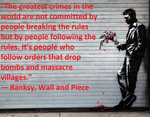 The Greatest Crimes-banksy by n0-username