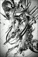 Ghost in the Shell Vertical by Rabling-Arts