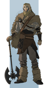Commission: Bjorn Skalgrim by hyperionwitch