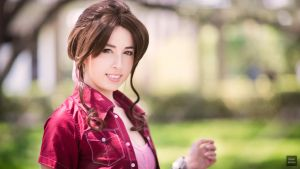 Aerith Gainsborough by BloodyCoffee