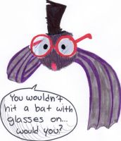 BaT wItH gLaSsEs On by KenshiTora