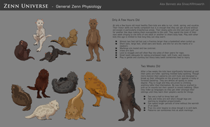 Zenn Universe - General Zenn Physiology 01 by Silvac