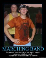 Marching Band: Just to sweaty by StuntzTheDude