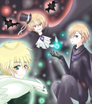 APH - Magic trio by Mi-chan4649