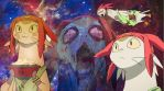 Space Dandy Meow Facebook cover / Wallpaper by Kami-Tooru