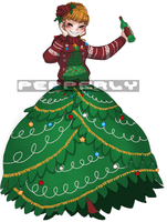 Umineko: Ugly Christmas Sweater Season by Pepperly