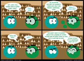 SC147 - Seth's Joke IV by simpleCOMICS