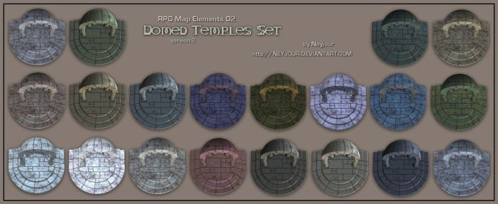 RPG Map Elements 02 by Neyjour