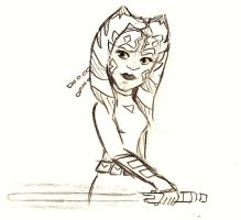 Older Ahsoka by DarthSkyGirl