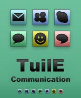 TuilE Icons - Communication by Lukeedee