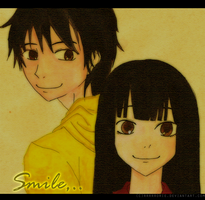 PC- Kazehaya and Sawako by rrrrrorie
