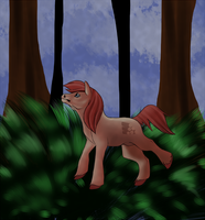 Art Trade- stalkerpony by LadyLirriea
