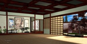 Japanese House by The-Ronyn
