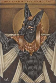 Red Anubis by darknatasha