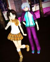 ::Dollys Drake and Cassie:: by KaylaChan92