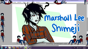 Marshall Lee Shimeji + Download by Rokeii