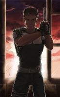 Chris Redfield by xzodust