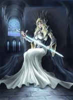 Priestess by SpaceWeaver