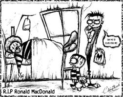 R I P Ronald the fat guy by Slash-Free-JCV