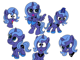 Aota Vector  Luna Expressions by VergilPL