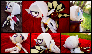 Demon Lord Ghirahim plushie by pikminAAA