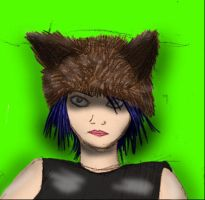 Me in a Wolf Hat by amelioration