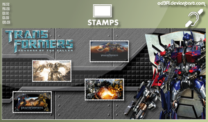 Stamps - 2009 - Transformers Revenge Of The Fallen by od3f1