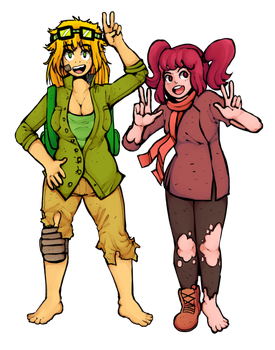 The scrap gals by PonehAnon