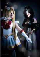 Sailor Moon and Queen Neherenia by Neferet-Cosplay